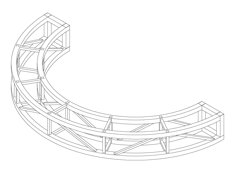 diameter-radius-truss
