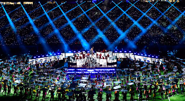 Behind the Build: Super Bowl LII Halftime Show