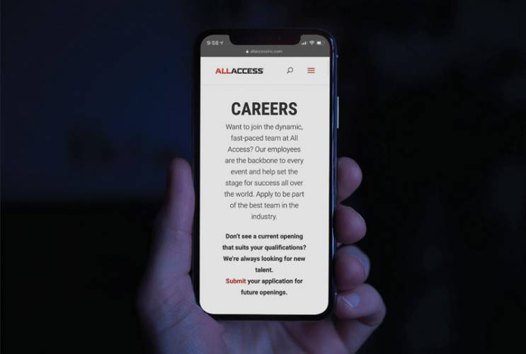 All Access Careers for the New Year